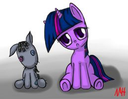 Twilight Sparkle and Her Smarty Pants by NeoHooves