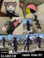Glameow Fursuit by Feathery-Wings
