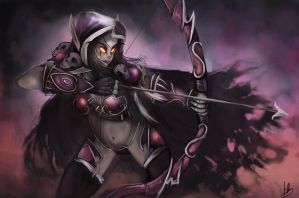 Sylvannas Windrunner fan art from WoW by Hamzilla15