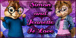 Simon and Jeanette Is Love by PrincessSarahEm