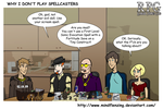 RPG Why I Don't Play Spellcasters by mindflenzing