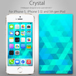 Crystal iPhone Wallpaper by VisualizationBrony