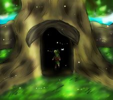 Deku Tree by Fantasylover64
