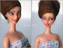 Dolores OOAK Doll Repaint 2 by kamarza