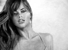 Adriana Lima Portait 07 by SkarzOne