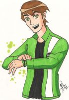 BEN10 - Ben - on model...maybe by pan2dapan