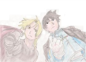 Edward and Roy by zb5766