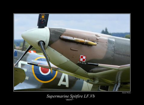 Supermarine Spitfire LF.Vb by Daniel-Wales-Images