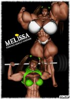 Workout Melissa by Stone3D