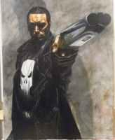 Punisher by byidlehands