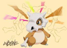Cubone by saintrok