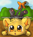 Chibi shiny Shinx by Veemonsito