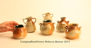 Mini Olive Oil Pots- Soda by CompassRosePottery