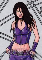 X-23 Sketch Card 2 by ElainePerna
