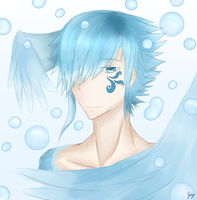 Water Angel by AnoterArts