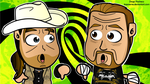 DX 2013 - WWE Chibi Wallpaper by kapaeme