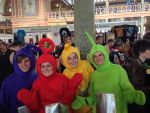 The Teletubbies - Oz Comic-Con 2013 by crashnspin