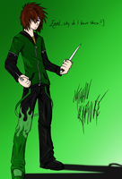 Nathan Rapture - Green Outfit by DemonSnake