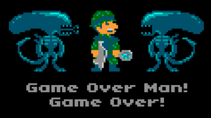 Game Over Man by torokun