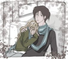 Winter Couple by Guu