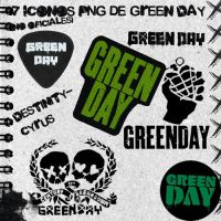 Pack 7 logos PNG de Green Day by destinity-cyrus
