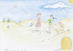 On the Dunes by Ivywhisker99