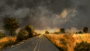 On The Road by RiseUndead