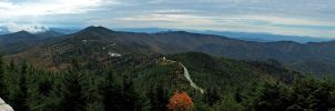 Mt. Mitchell Summit Panorama 2 by rdswords