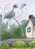 War of the Worlds Sketch Card (9) by GeekyWhiteGuy