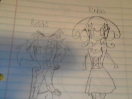 Reichi and kinkan unfinished by NekoCapsule