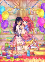 Library Festival by Risocaa