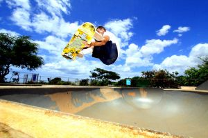 Skate to the Sky by manaphoto