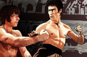 Bruce Lee by rastaman-deviant