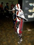 Otakon 2011 - Kratos by mugiwaraJM