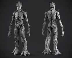 MVL Legends Infinite Series - Groot by DeathMetalDan