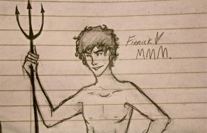 I Drew Finnick in English by LikeATowtruck
