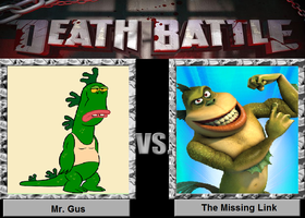 Mr. Gus vs. The Missing Link by Toongirl18
