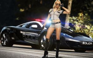 Need For Speed Hot Police by jibp7177