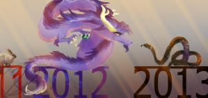 2013 - the 'welcoming' of the snake! by Ningeko16