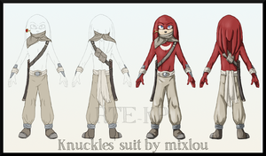 Knuckles clothes design 3) by BUGHS-22