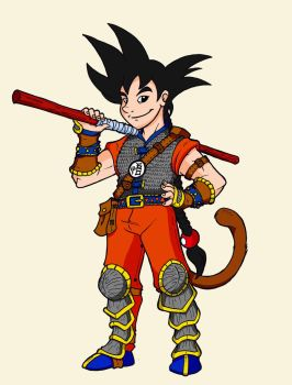 Goku Re-design by The-Great-RKL