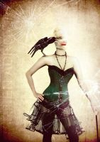 green corset by TeeLamb