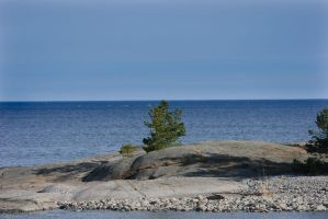 View of the Baltic Sea by BanditArtDesign