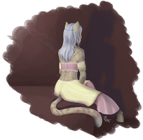Speedpaint 01 - Solitaire by mewgal