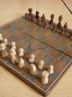 'finished' chessboard by BlueBird58