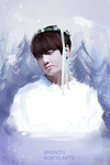 JUNGKOOK SNOW by Nintti