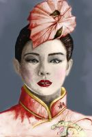 Zhang Ziyi colored by NeoQueenSerenety