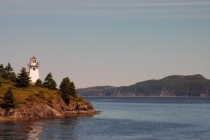 Woody Point's light house by LucieG-Stock