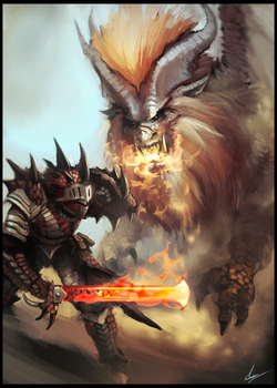Teostra by UltimaFatalis