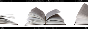 Open book Cut Out by ManicHysteriaStock